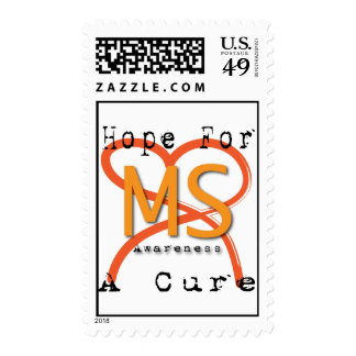Hope For A Cure - MS Awareness Postage