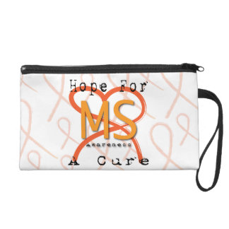 Hope For A Cure - MS Awareness Wristlet