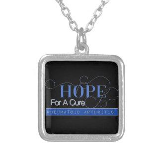 Hope for a Cure Necklace Rheumatoid Arthritis
