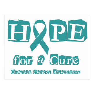 Hope for a Cure - Ovarian Cancer Postcard