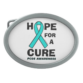 Hope For A Cure...PCOS Belt Buckle