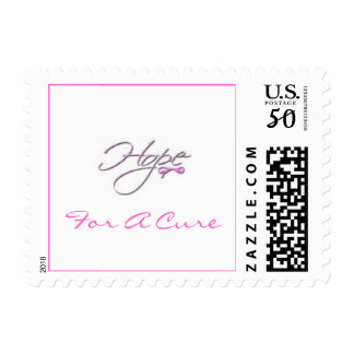 Hope For A Cure Postage