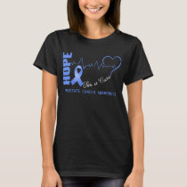 Hope For A Cure Prostate Cancer Awareness T-Shirt