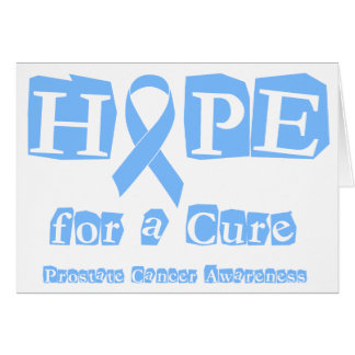 Hope for a Cure - Prostate Cancer Card