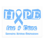 Hope for a Cure - Prostate Cancer Postcards