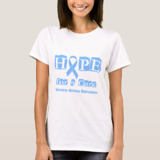 Hope for a Cure - Prostate Cancer T-Shirt
