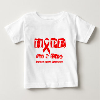 Hope for a Cure - Red Ribbon Baby T-Shirt