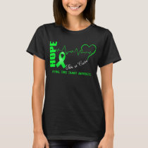 Hope For A Cure Spinal Cord Injury Awareness T-Shirt