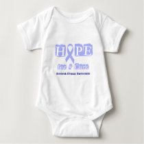Hope for a Cure - Stomach Cancer Baby Bodysuit