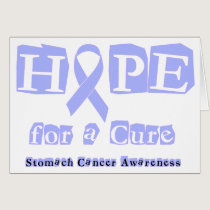 Hope for a Cure - Stomach Cancer Card