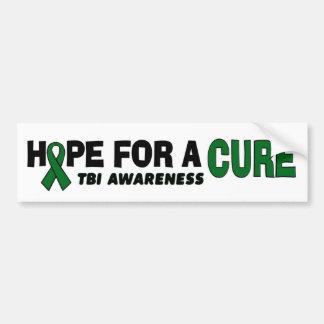 Hope For A Cure...TBI Bumper Sticker