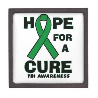 Hope For A Cure TBI Keepsake Box