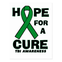 Hope For A Cure TBI Postcard