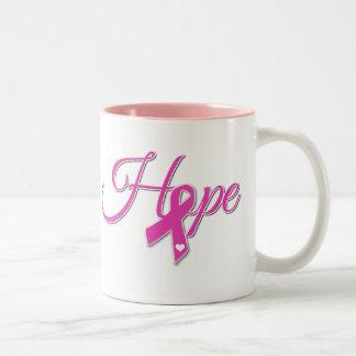 Hope for a Cure Two-Tone Coffee Mug