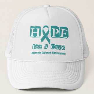 Hope for a Cure - Uterine Cancer Trucker Hat