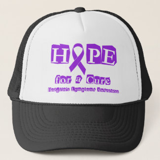 Hope for a Cure - Violet Ribbon Trucker Hat