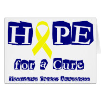 Hope for a Cure - Yellow Ribbon