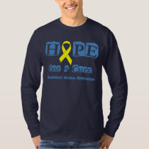 Hope for a Cure - Yellow Ribbon T-Shirt