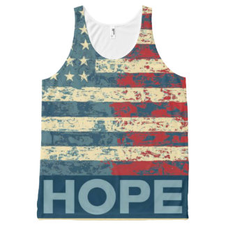 Hope for America All-Over-Print Tank Top