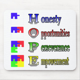 Hope for Autism Mouse Pad