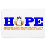 HOPE for Breezy Car Magnet