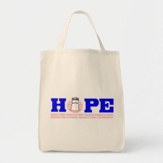 HOPE for Breezy Grocery Tote in Pink