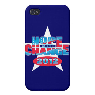 Hope for Change 2012 iPhone 4 Covers