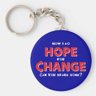 Hope for Change Keychain