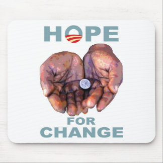Hope for Change Mouse Pad