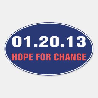 Hope For Change Sticker