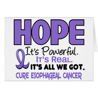 HOPE For Esophageal Cancer 1 Card