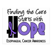 HOPE For Esophageal Cancer 4 Postcard