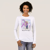 """Hope for Fibromyalgia"" (long sleeve t-shirt) Long Sleeve T-Shirt"