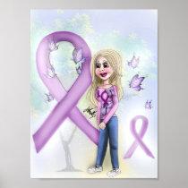 """Hope for Fibromyalgia"" (poster) Poster"