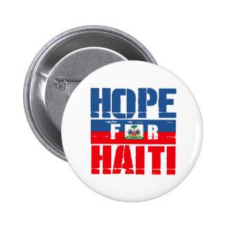 Hope for Haiti Button