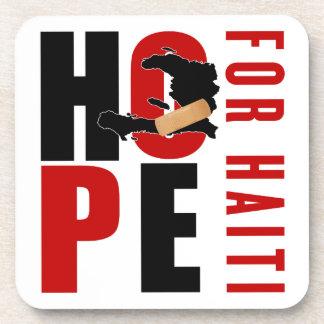Hope For Haiti Coaster