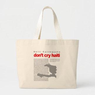 hope for haiti now bag