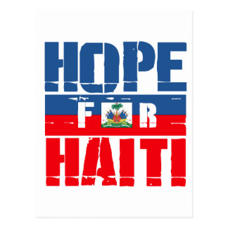 Hope for Haiti Postcard