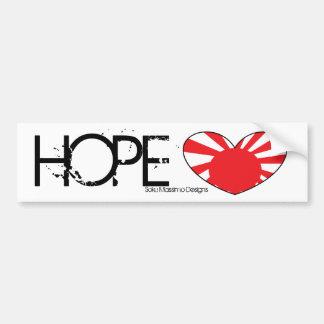 Hope For Japan Bumper Sticker