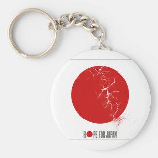 HOPE FOR JAPAN - EARTHQUAKE BASIC ROUND BUTTON KEYCHAIN