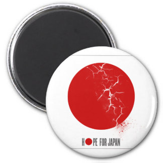 HOPE FOR JAPAN - EARTHQUAKE REFRIGERATOR MAGNET