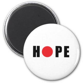 Hope for Japan - Earthquake & Tsunami Victims Refrigerator Magnet