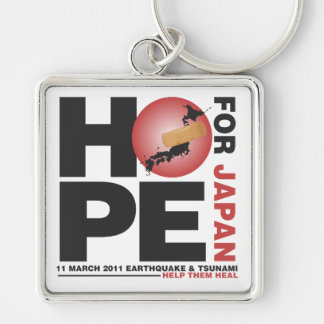 HOPE FOR JAPAN - HELP THEM HEAL KEYCHAIN