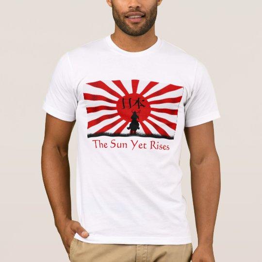 HOPE for JAPAN Samurai Flag Earthquake Relief T-Shirt