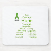 Hope for Lyme mousepad