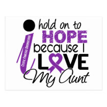 Hope For My Aunt Cystic Fibrosis Postcard