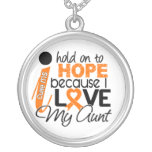 Hope For My Aunt Multiple Sclerosis MS Necklaces