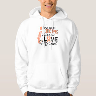 Hope For My Aunt Uterine Cancer Hoodie