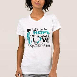 Hope For My Best Friend Cervical Cancer T-Shirt