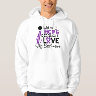 Hope For My Best Friend Cystic Fibrosis Hooded Sweatshirt